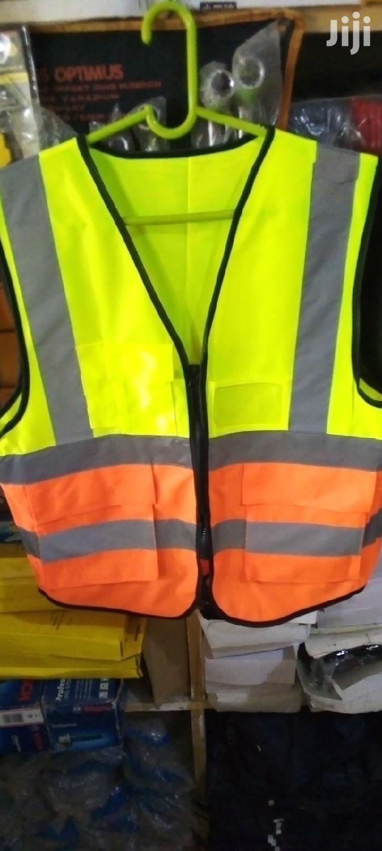 Reflective Vest Green N Orange | Safety Equipment for sale in Ashaiman Municipal, Greater Accra, Ghana