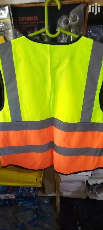 Reflective Vest Green N Orange