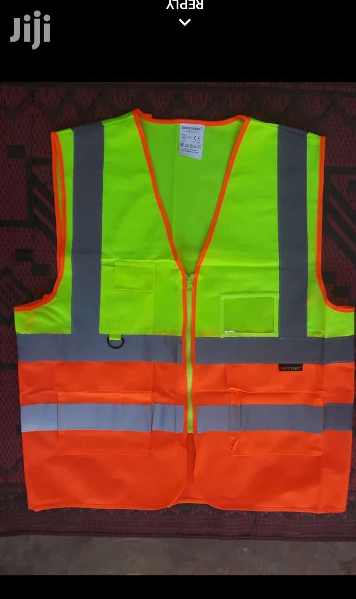 Reflective Vest Green Blue Colour | Safety Equipment for sale in Ashaiman Municipal, Greater Accra, Ghana