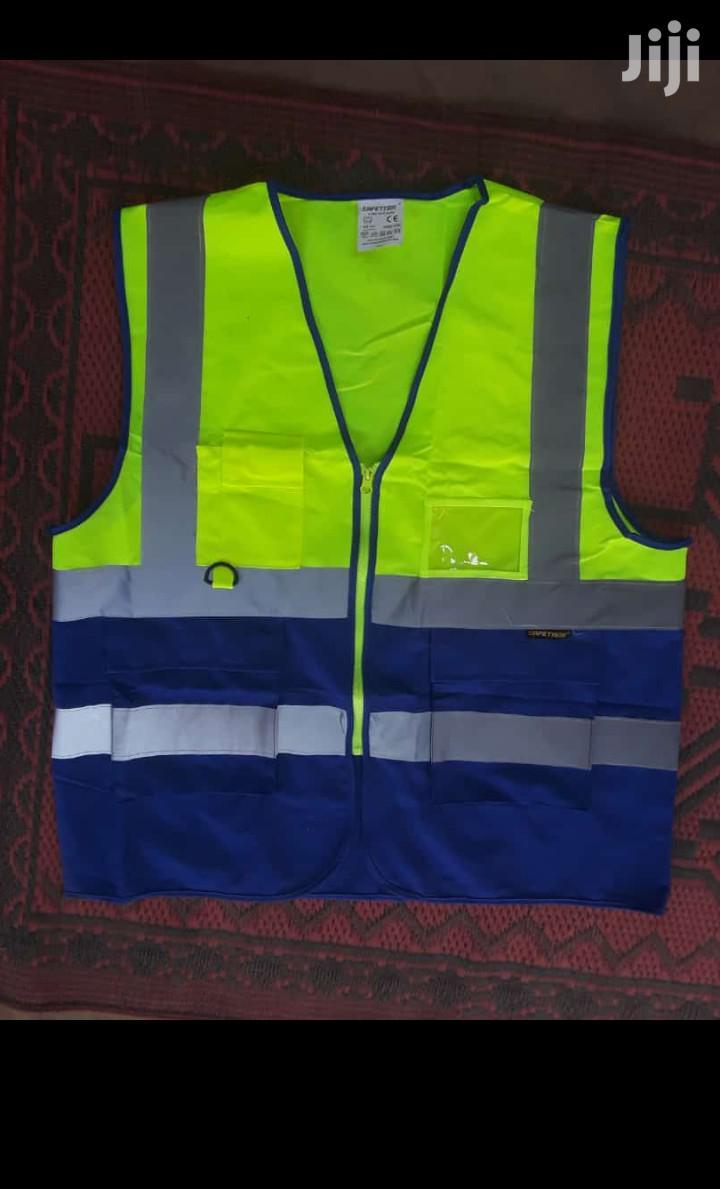 Reflective Vest Green Blue Colour