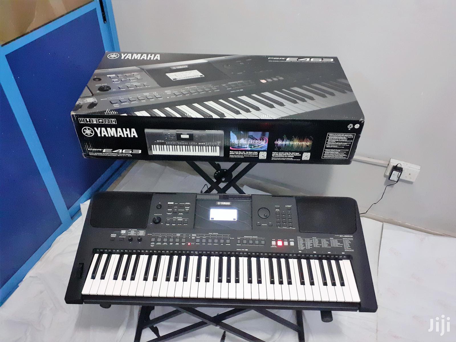 Archive: Yamaha PSR-E463