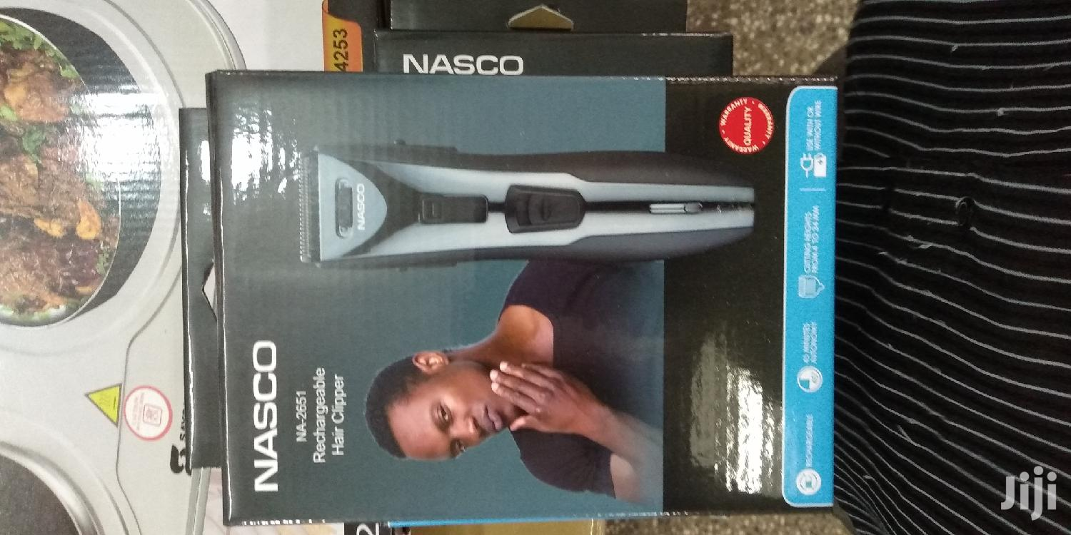 Nasco Rechageable Hair Clipper | Tools & Accessories for sale in Accra Metropolitan, Greater Accra, Ghana