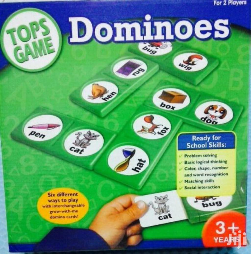 Tops Game Dominoes