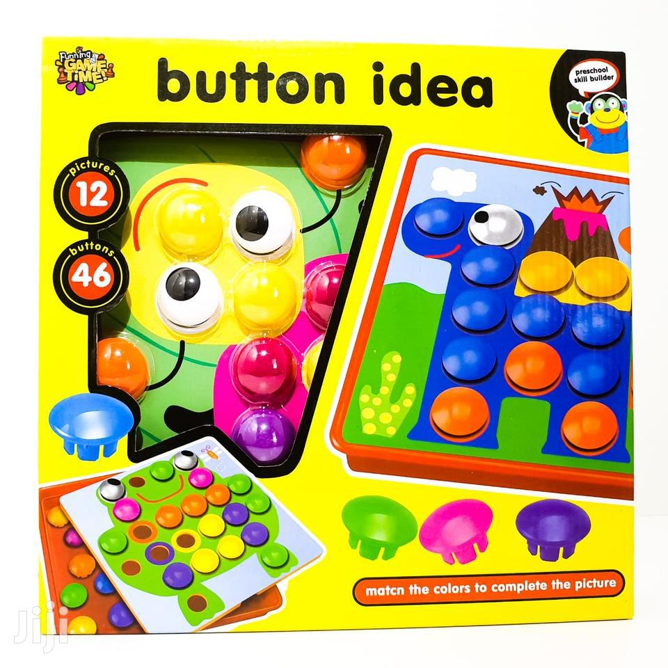 Button Idea Game Puzzle