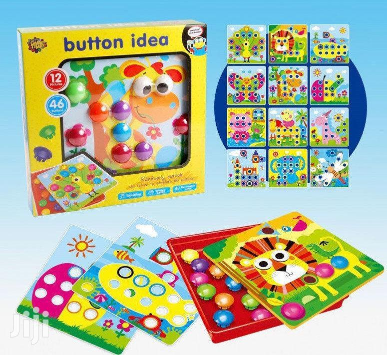 Button Idea Game Puzzle | Books & Games for sale in Accra Metropolitan, Greater Accra, Ghana