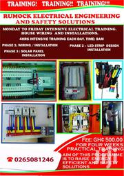 House Installation , Maintenance  And Training. Your Comfort Is Our | Classes & Courses for sale in Northern Region, Chereponi