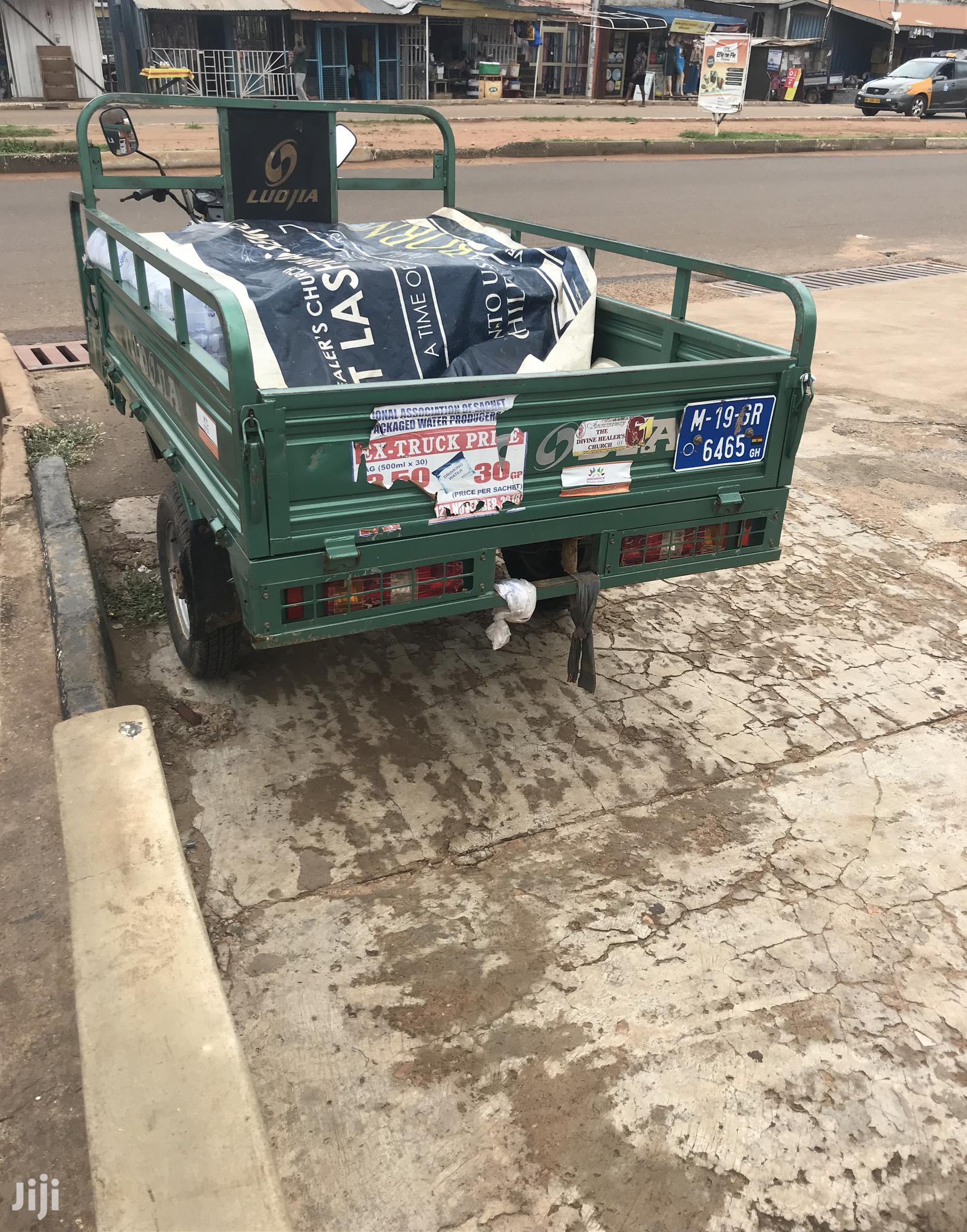 Luojia Motorized Tricycle 2019 Green | Motorcycles & Scooters for sale in Tema Metropolitan, Greater Accra, Ghana