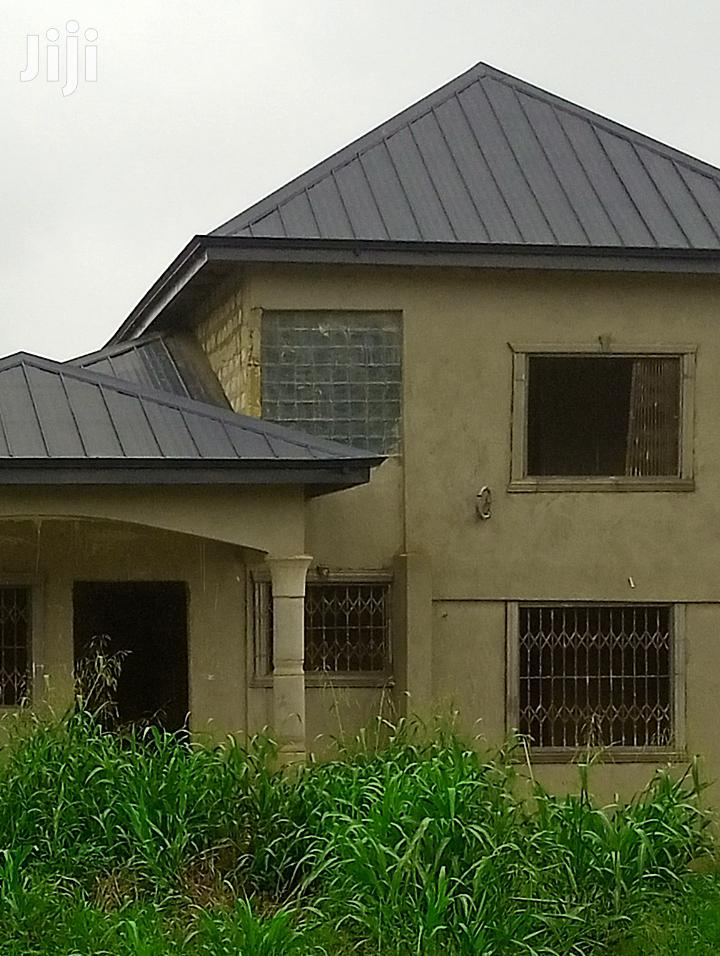 90% Completed 4 Bedrooms Storey Building Near St. James High School | Houses & Apartments For Sale for sale in Sunyani Municipal, Brong Ahafo, Ghana