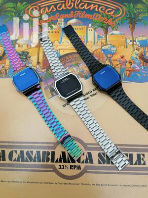 Casio A168 Digital Touch Watch