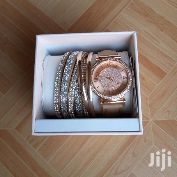 Ladies Watch With Bangles and Bracelet | Watches for sale in Ga East Municipal, Greater Accra, Ghana