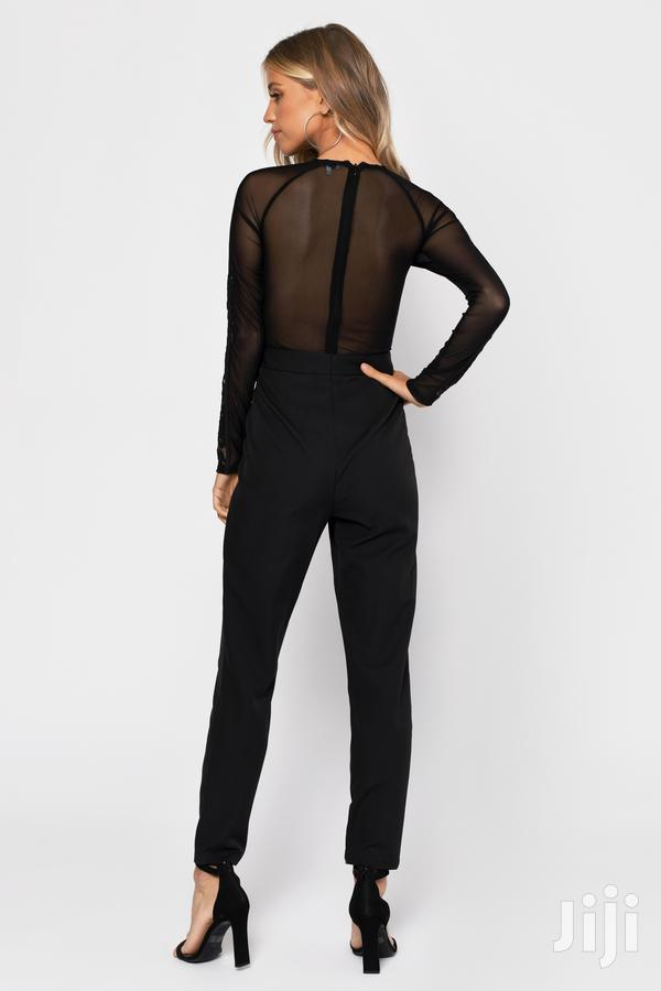Archive: Good Girl Gone Bad Black Lace Jumpsuit