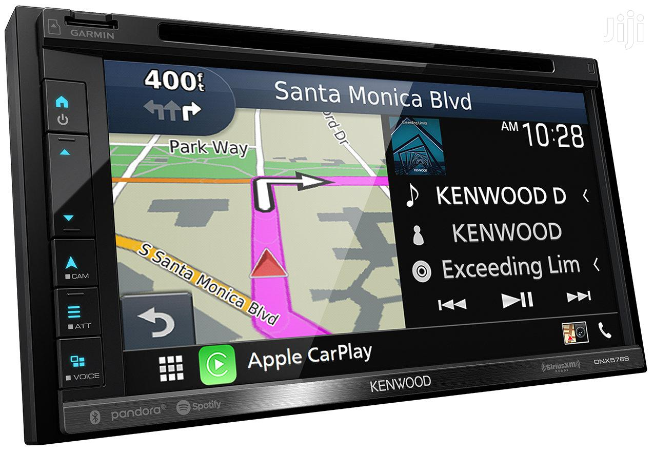 "Kenwood DNX576S 6.75"" DVD Navigation Receiver With Carplay And Android"