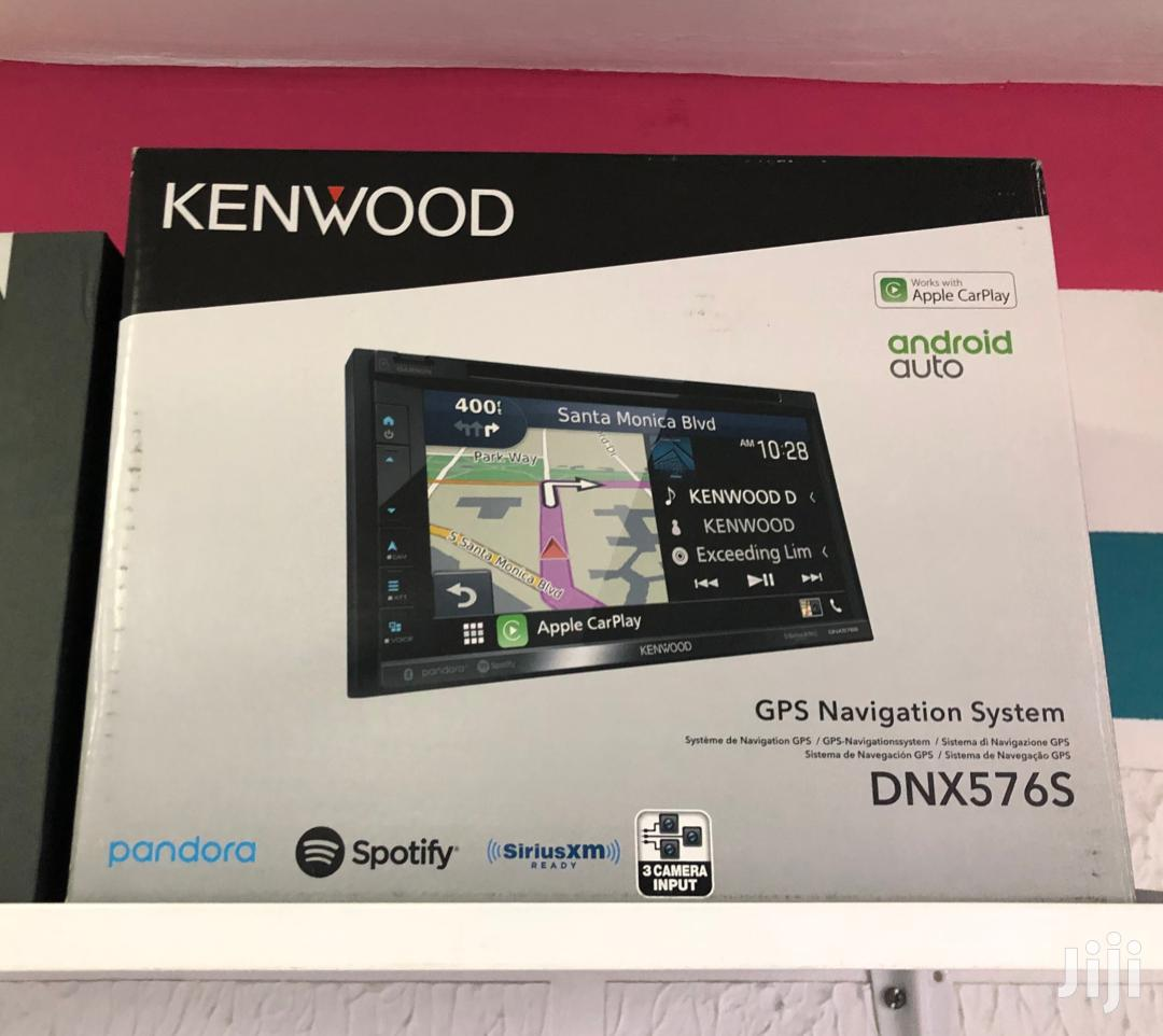 "Kenwood DNX576S 6.75"" DVD Navigation Receiver With Carplay And Android 
