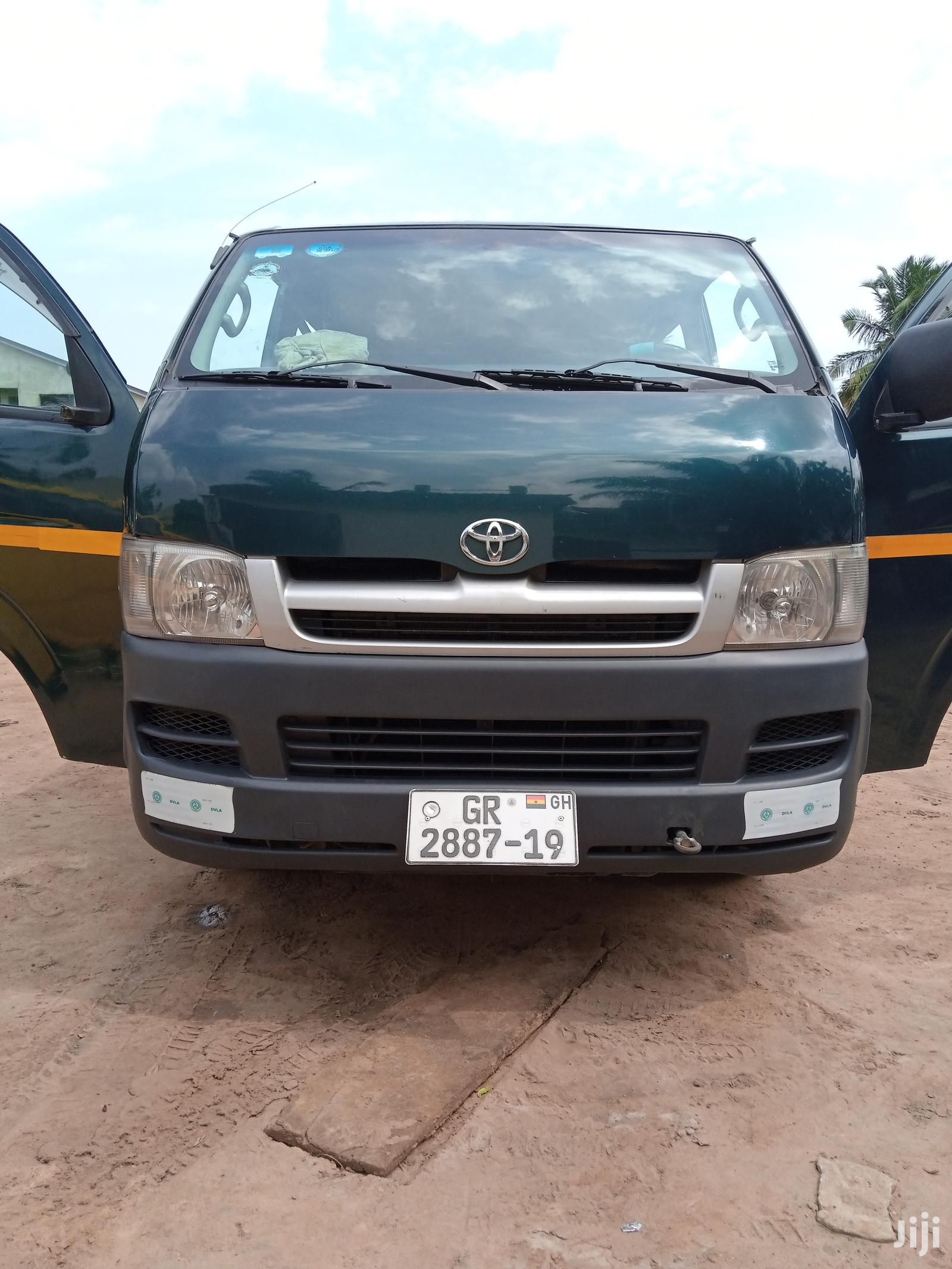Archive: Toyota Hiace 2007 For Sale