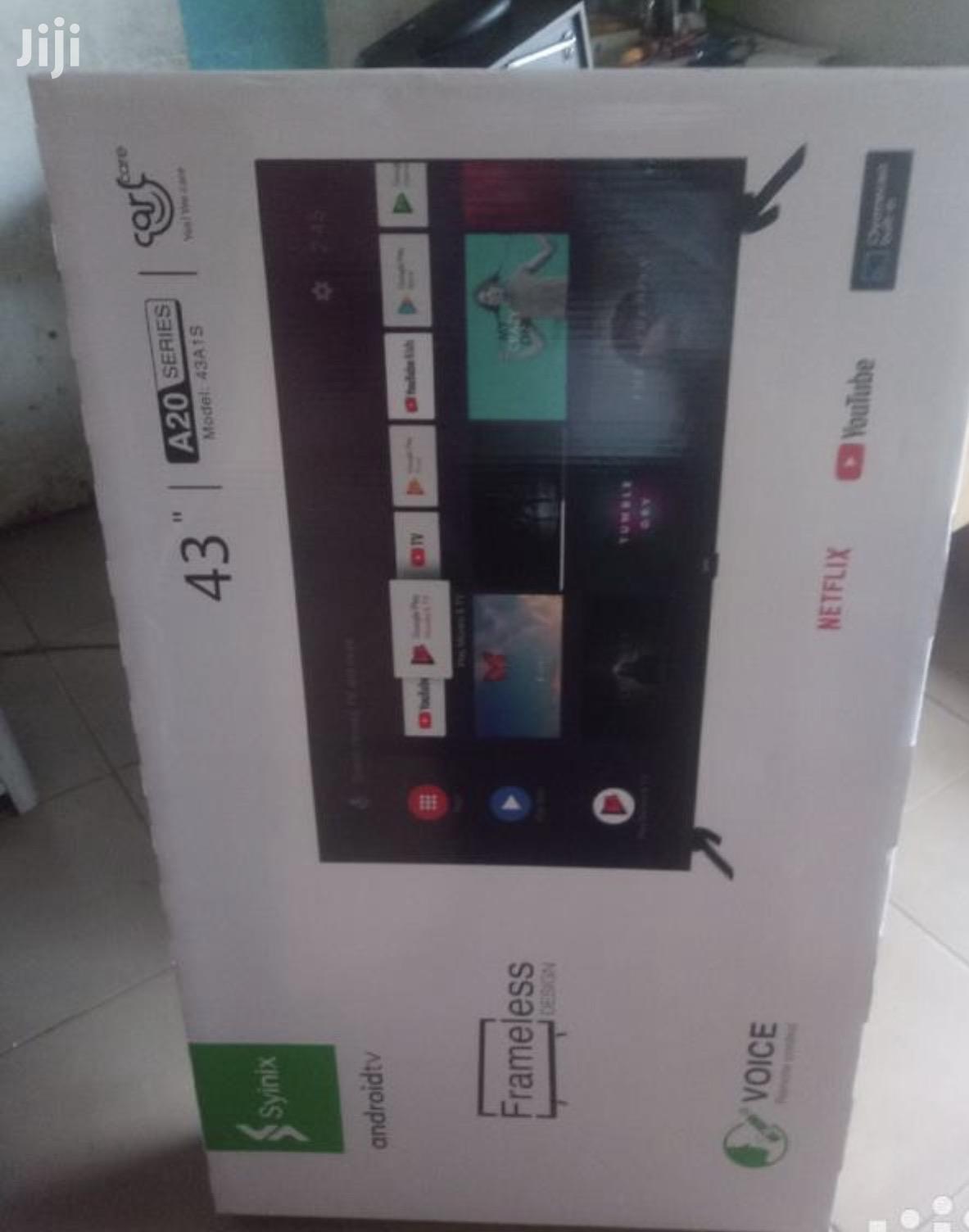 "Brand New Syinix 43"" Smart Android TV Digital Satellite LED"