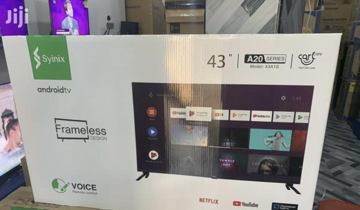 """Latest Syinix 43"""" Smart Android Digital Satellite LED TV"""