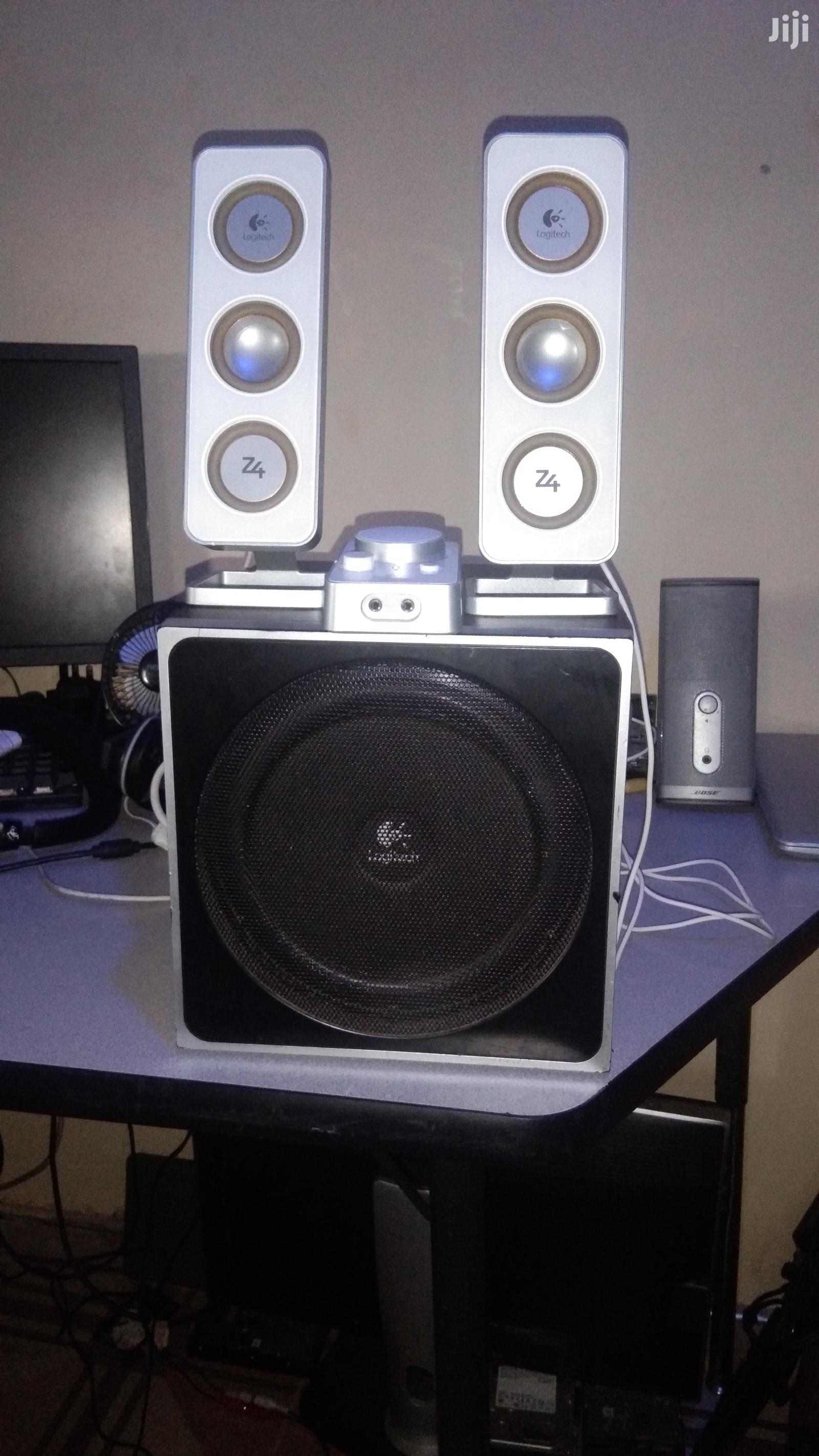 Archive: Logitech Z4 Speaker System - Black