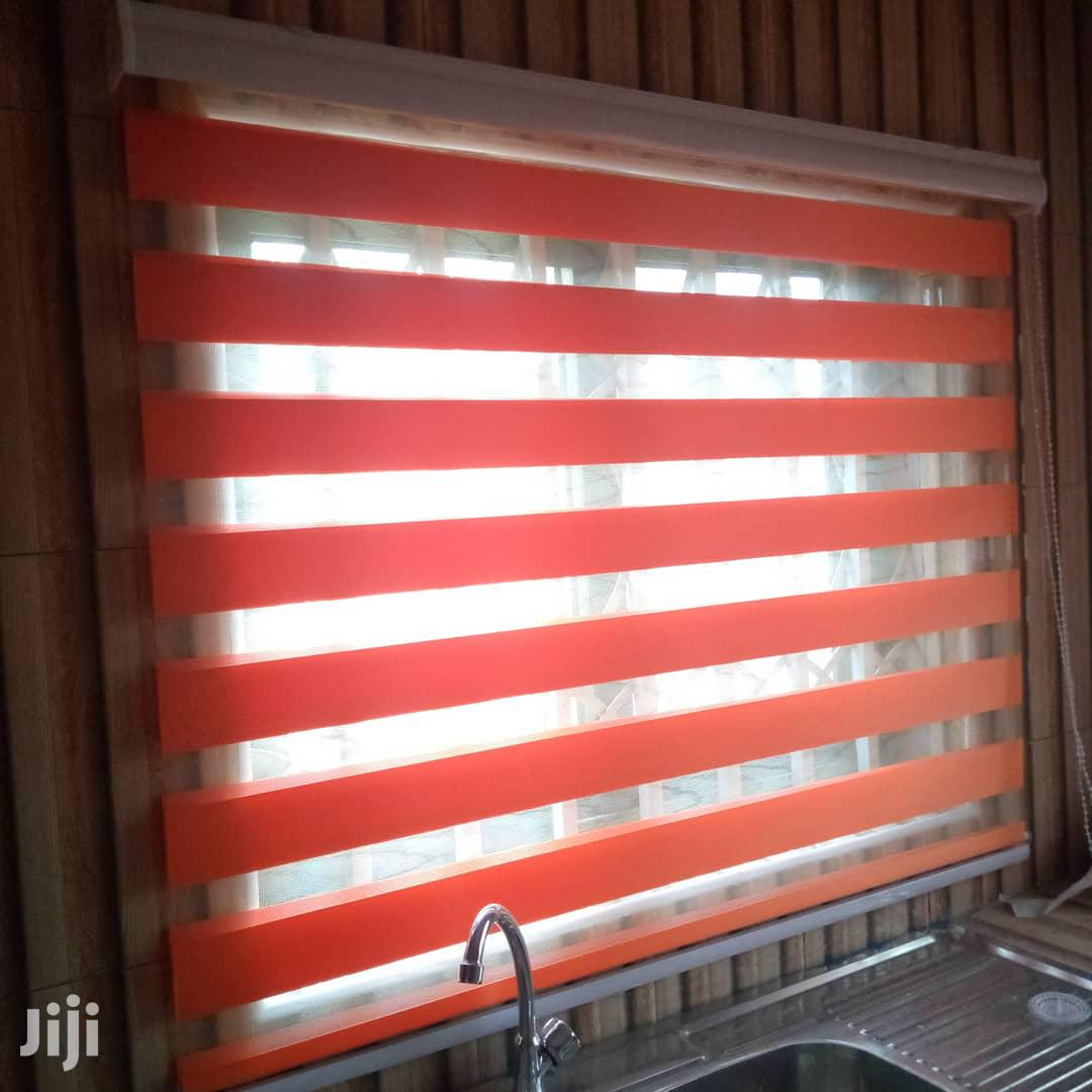 Orange Zebra Blinds | Home Accessories for sale in Accra Metropolitan, Greater Accra, Ghana