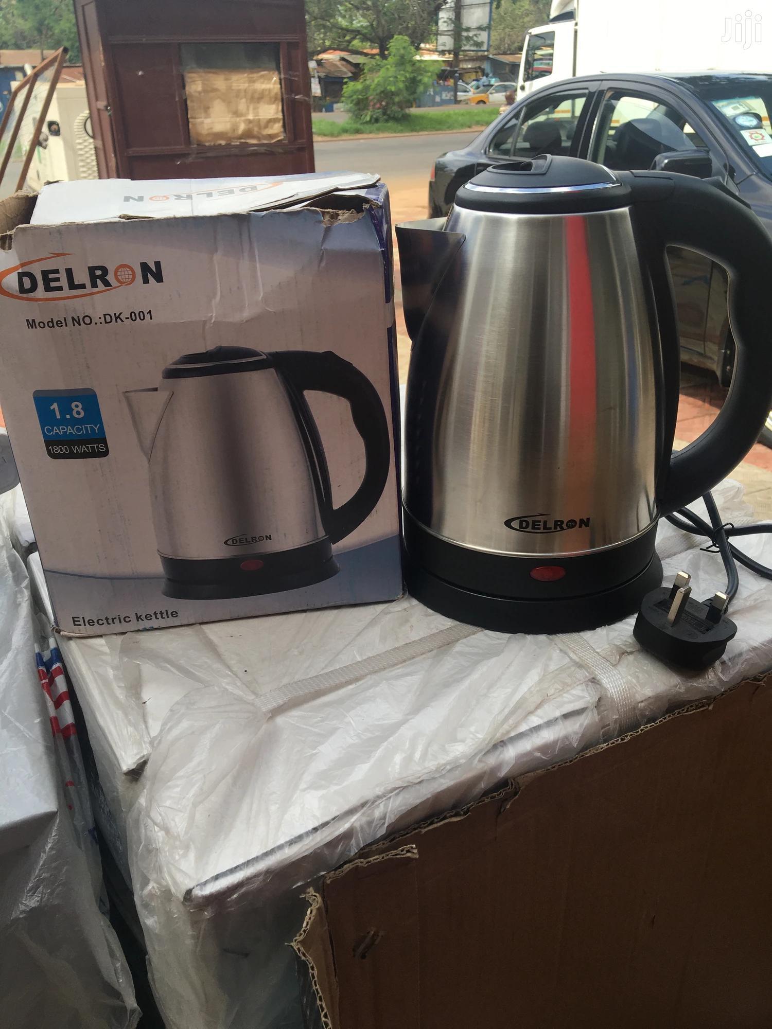 Delron Electric Kettle | Kitchen Appliances for sale in Kumasi Metropolitan, Ashanti, Ghana