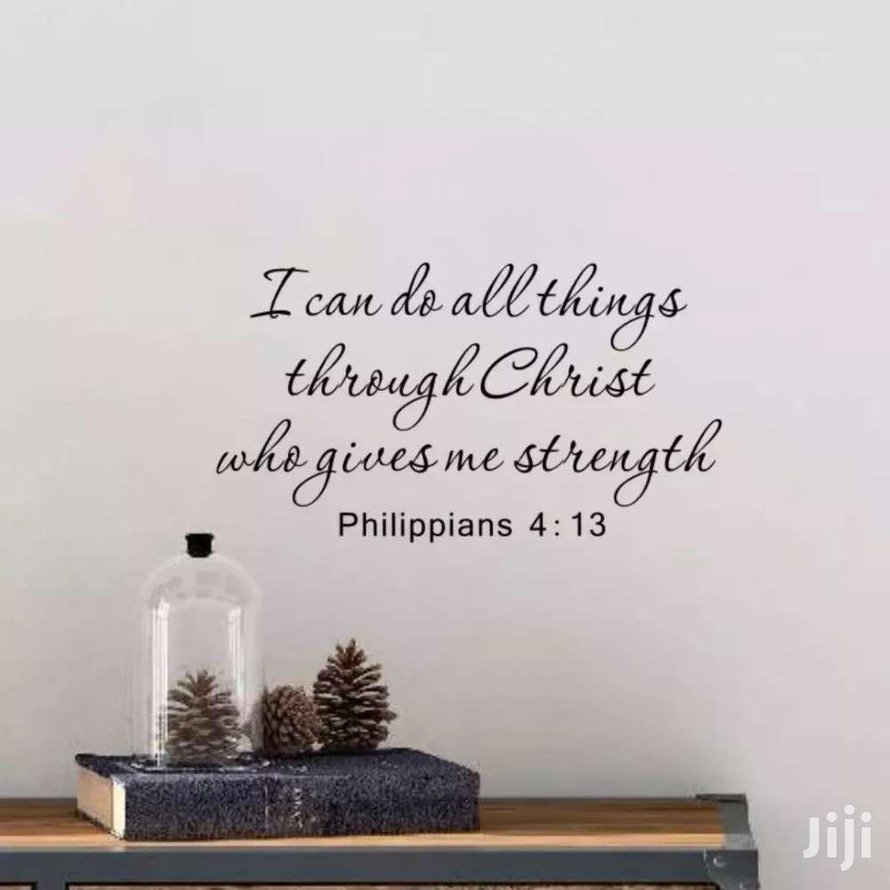 Bible Verse Wall Stickers | Home Accessories for sale in Odorkor, Greater Accra, Ghana