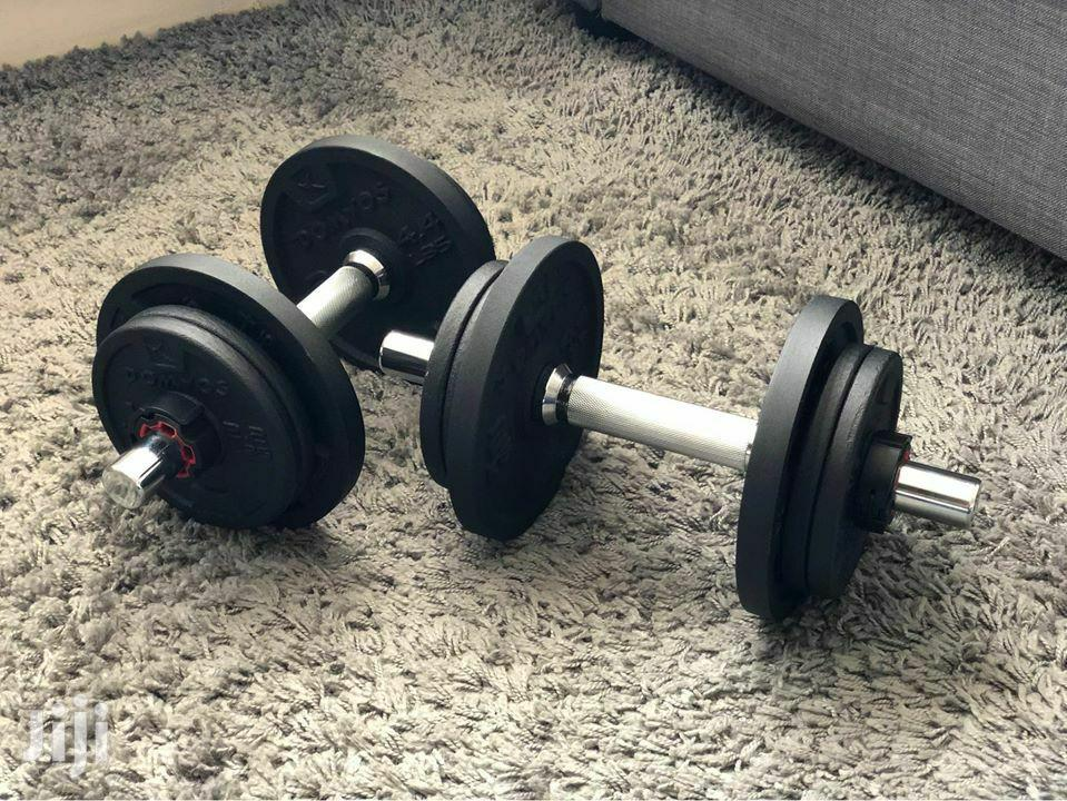 Dumbbells. 20kg New Stock | Sports Equipment for sale in Accra Metropolitan, Greater Accra, Ghana