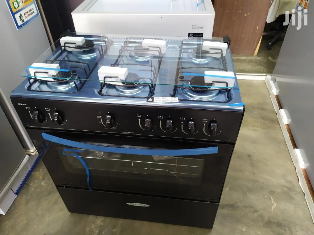 Relevant Icestream 6 Burner Ovena and Stove Black