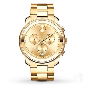 Movado Bold Gold Chronograph Watch