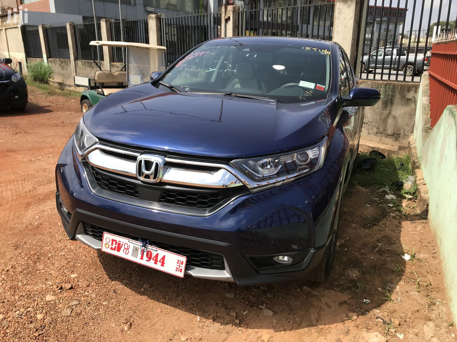 Honda CR-V 2017 Blue   Cars for sale in East Legon, Greater Accra, Ghana