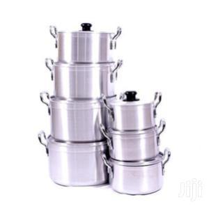 Aluminium Utensils - 7 Set Silver   Kitchen & Dining for sale in Greater Accra, Tema Metropolitan