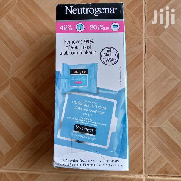 120ct Neutrogena Makeup Remover Cleansing Towelettes | Health & Beauty Services for sale in Ga East Municipal, Greater Accra, Ghana