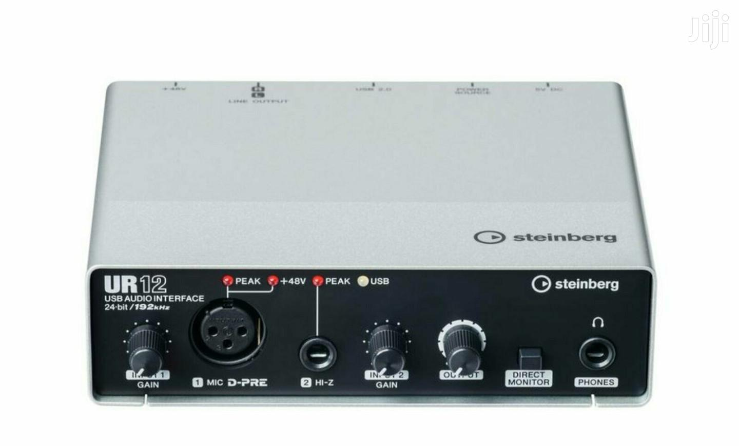Steinberg UR12 USB Audio Interface | Audio & Music Equipment for sale in Alajo, Greater Accra, Ghana