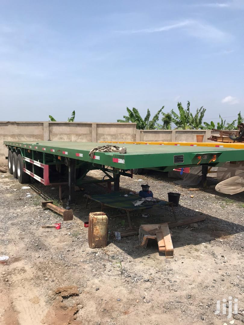 Flatbed Trailer 2015 Credible Triple Axles | Trucks & Trailers for sale in East Legon, Greater Accra, Ghana
