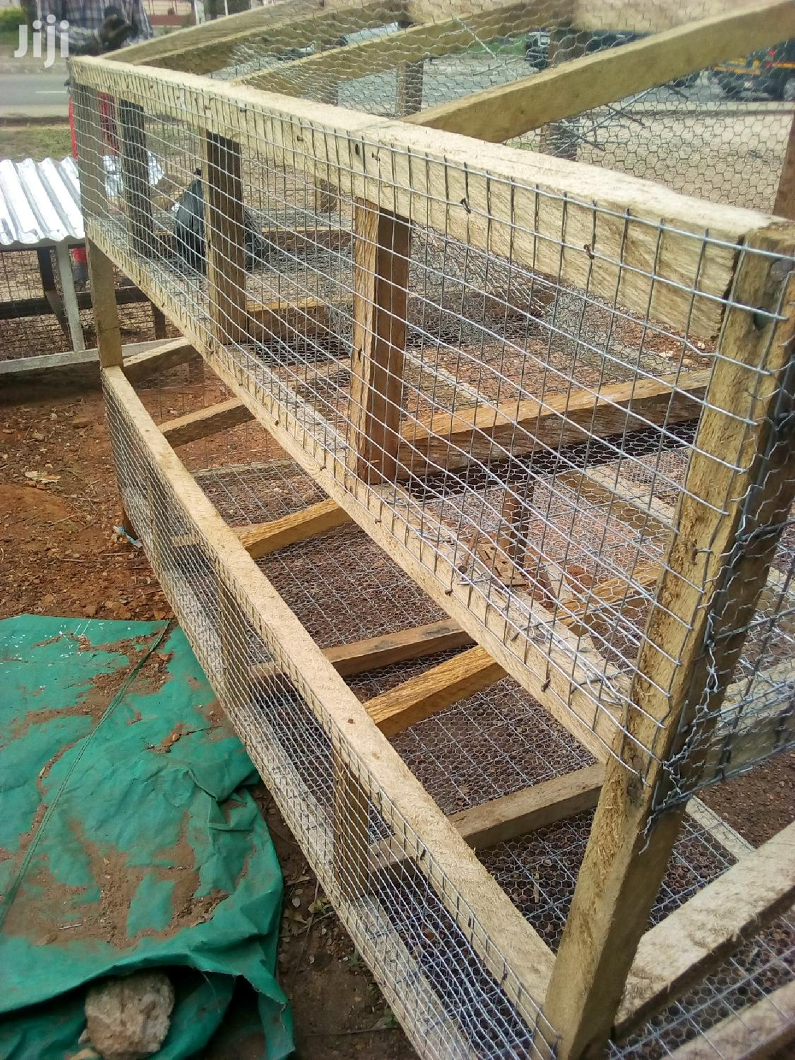 Rabbit And Grasscutter Cage For Sale | Pet's Accessories for sale in Roman Ridge, Greater Accra, Ghana