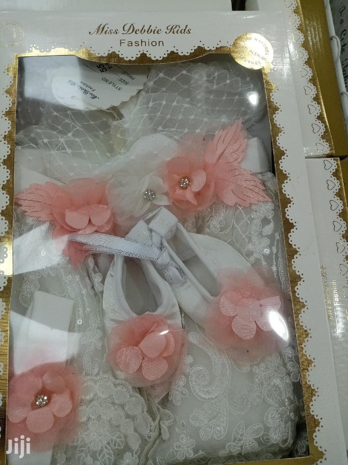 Baby Girl Christening Dress Set | Children's Clothing for sale in Kwashieman, Greater Accra, Ghana