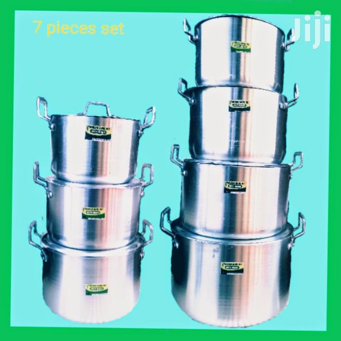 Adepa 7 Pieces Set of Aluminium Cooking Utensils