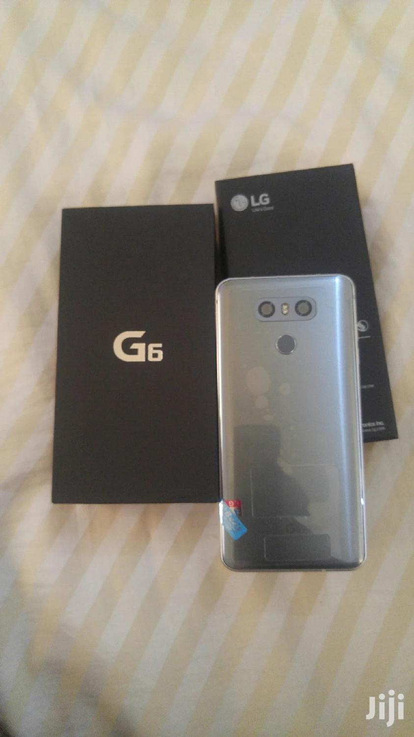 Archive: New LG G6 64 GB Silver