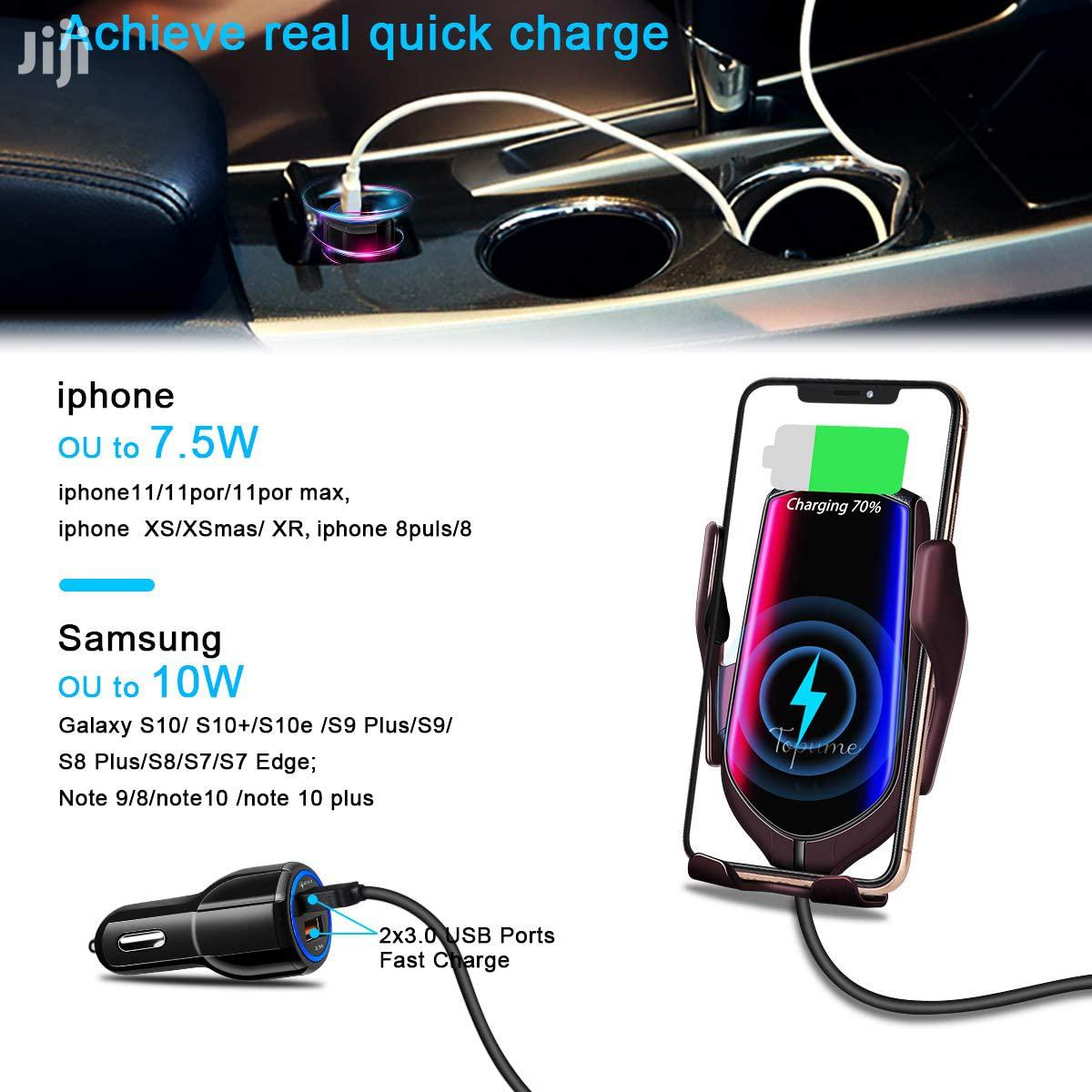 Wireless Charger & Phone Holder:2-in-1