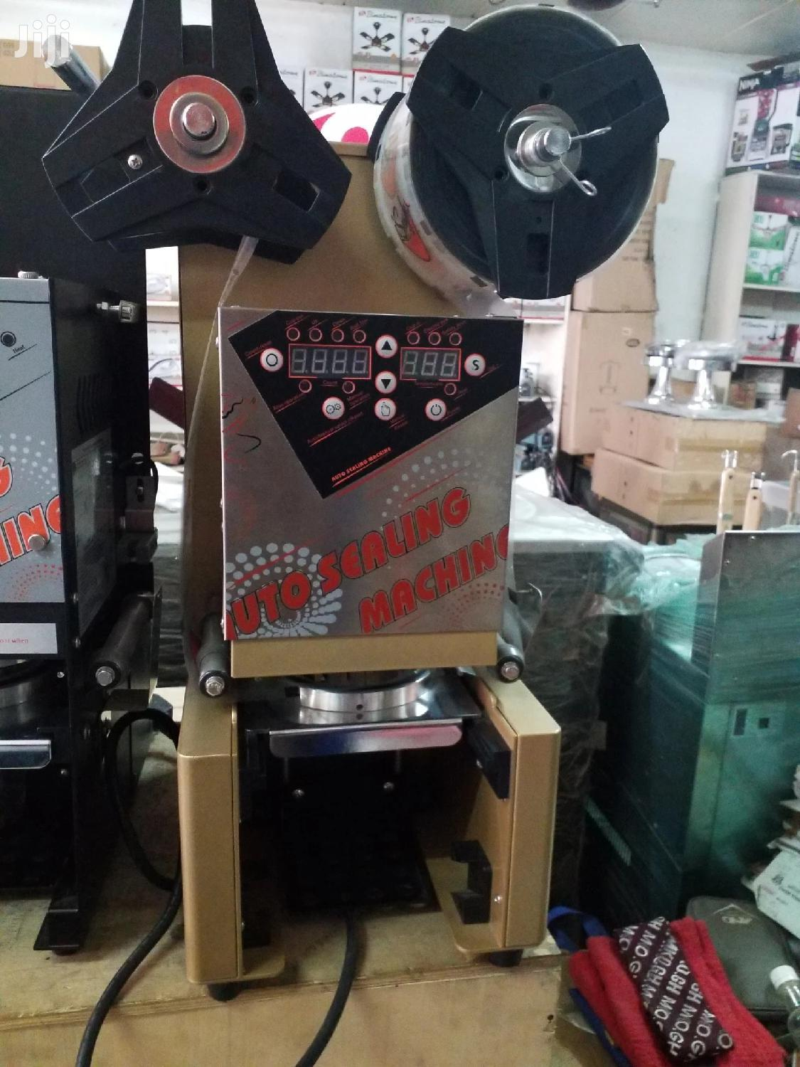 Cup Sealing Machine Automatic