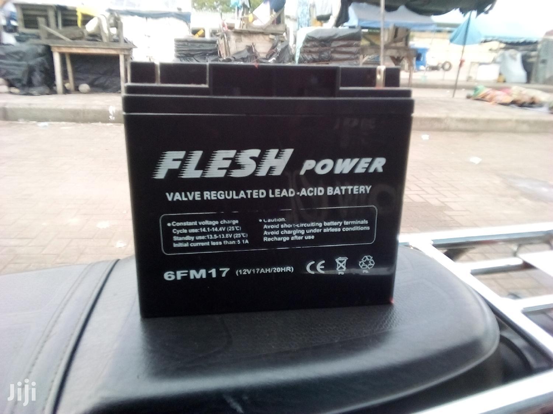 Archive: Solar Battery 12v 17ah