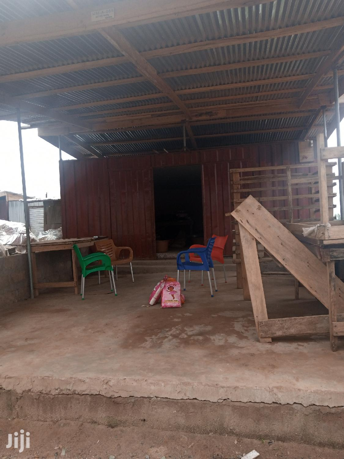 40×15 Feet Land With Shop For Sale At Ashaiman Market | Commercial Property For Sale for sale in Tema Metropolitan, Greater Accra, Ghana