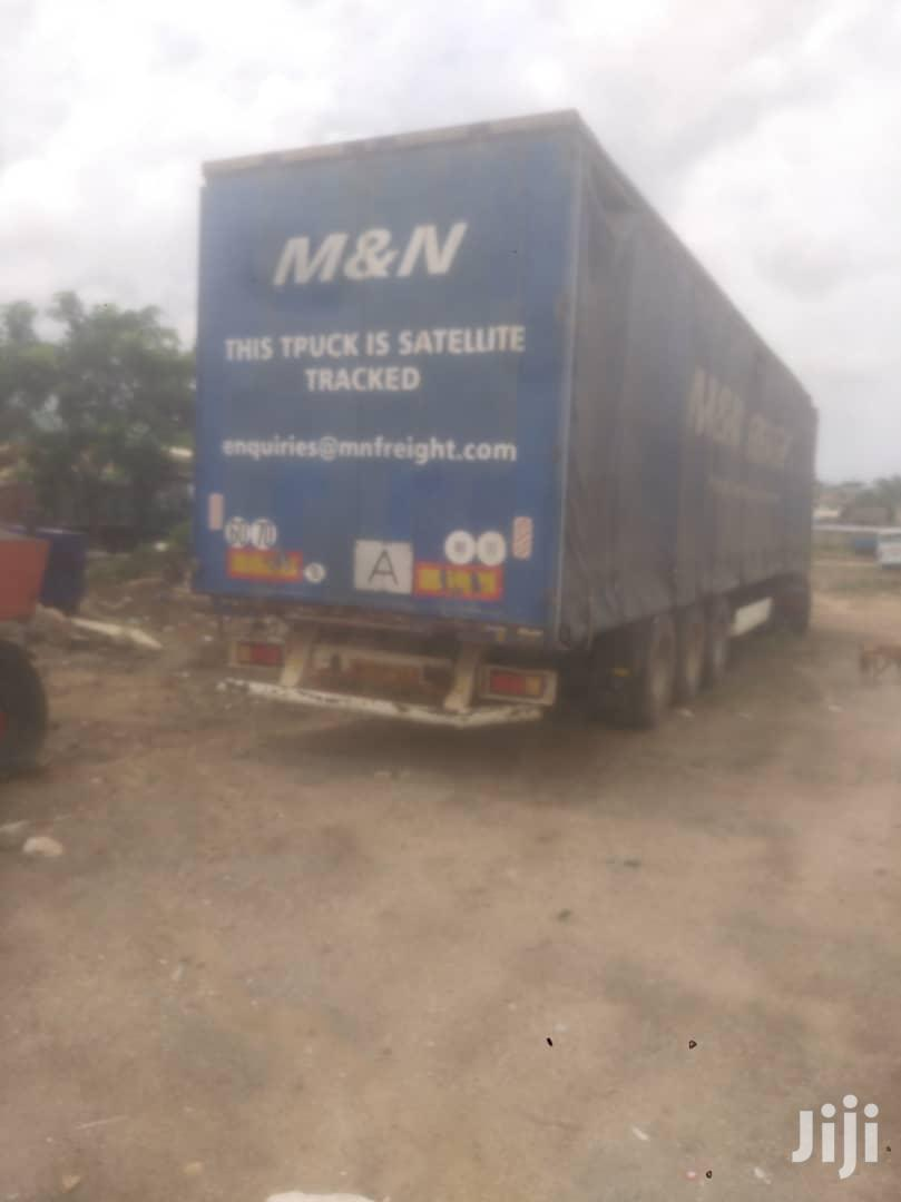 Slightly Used European Flatbed Trailer | Trucks & Trailers for sale in Teshie new Town, Greater Accra, Ghana
