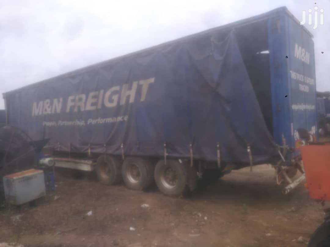 Slightly Used European Flatbed Trailer