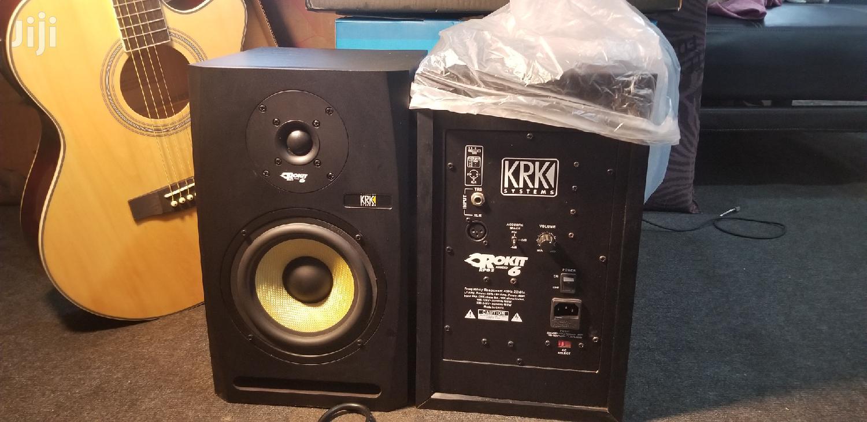 Studio Monitors KRK 6 Inches