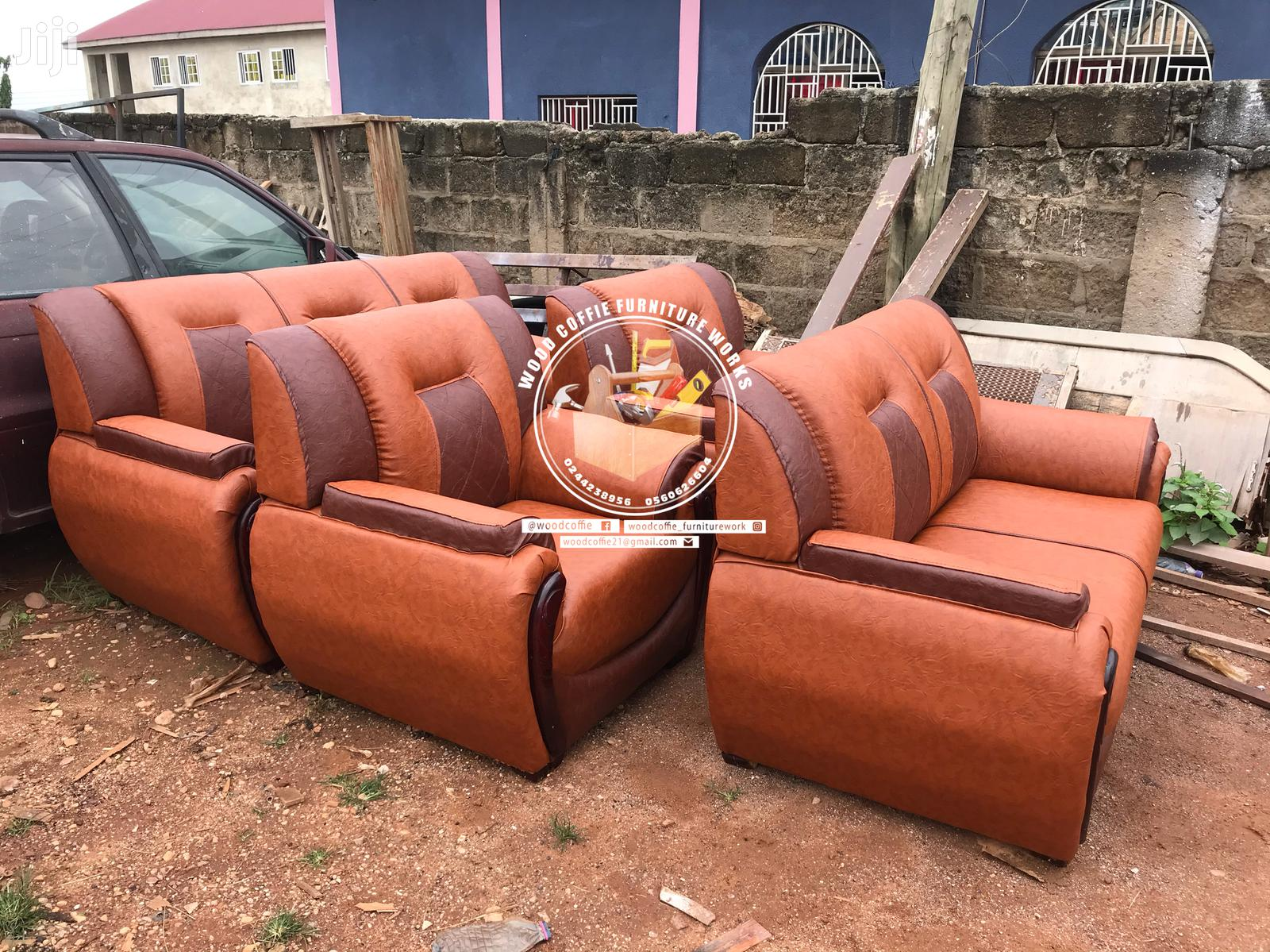 Quality Leather Sofa | Furniture for sale in Kumasi Metropolitan, Ashanti, Ghana