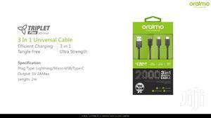 Oraimo 3 In 1 Universal Cable
