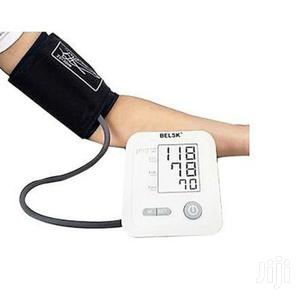 Belsk Blood Pressure Monitor With Voice | Medical Supplies & Equipment for sale in Greater Accra, Kwashieman