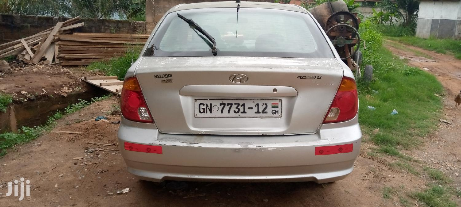 Archive: Hyundai Accent 2005 1.5 CDX Automatic Silver