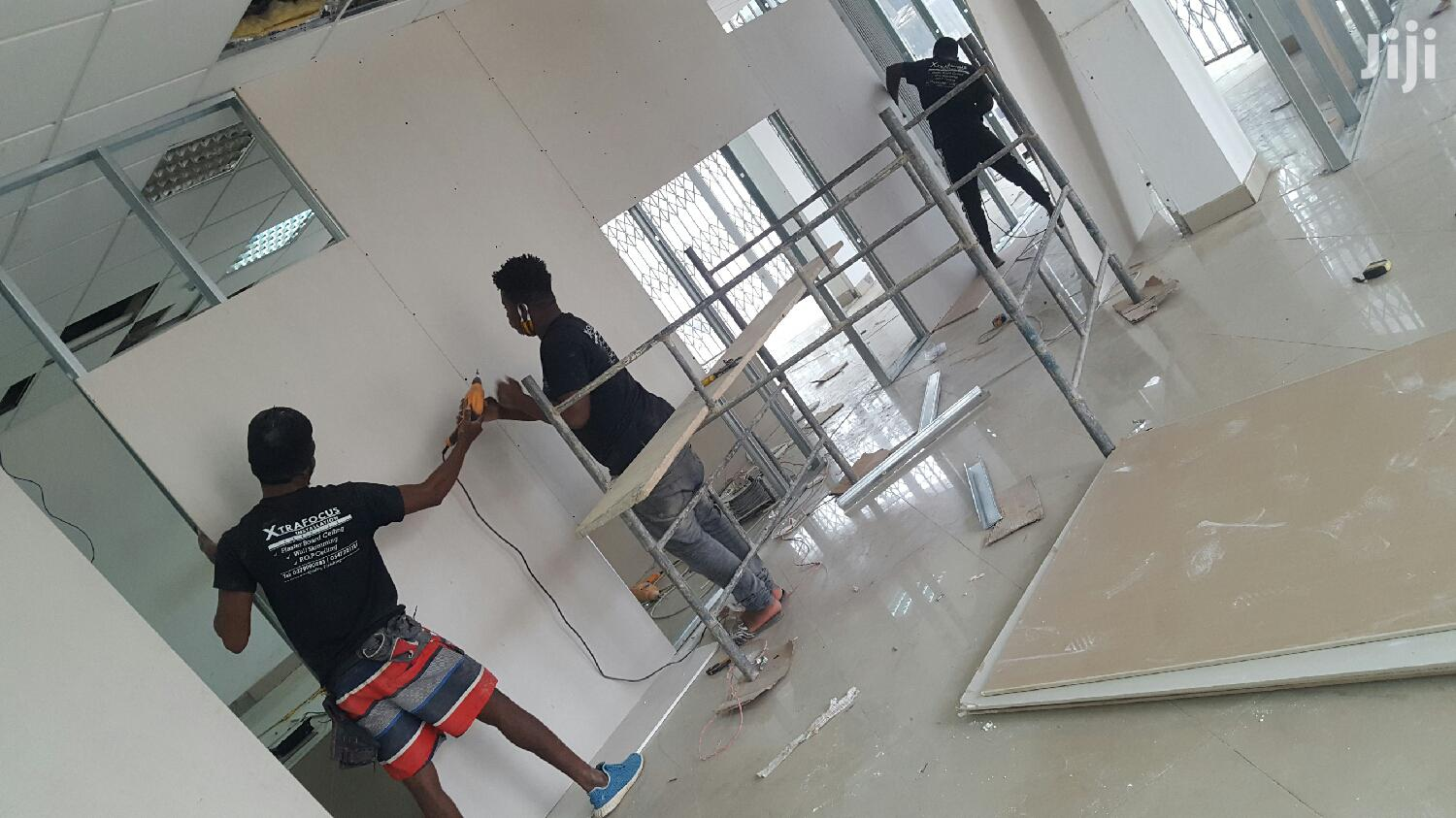 Plasterboard Partition | Building & Trades Services for sale in Alajo, Greater Accra, Ghana