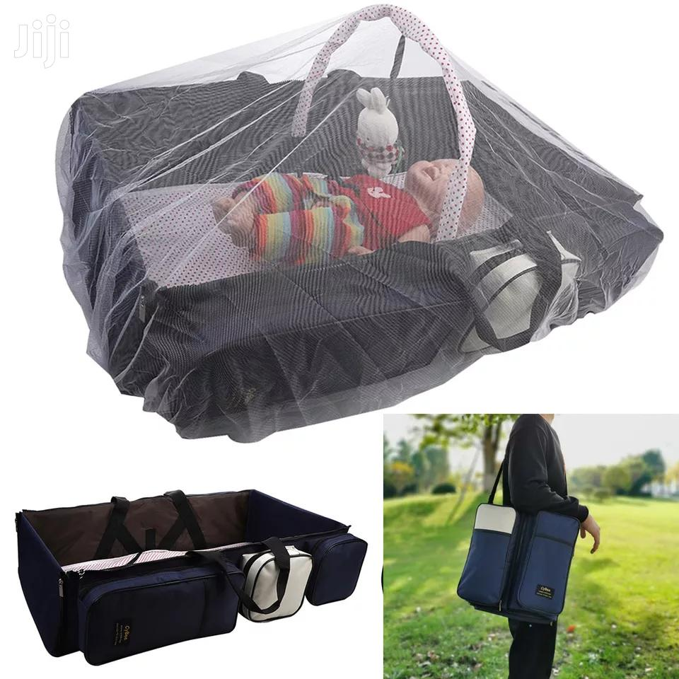 2 In 1 Diaper Bag With Bed