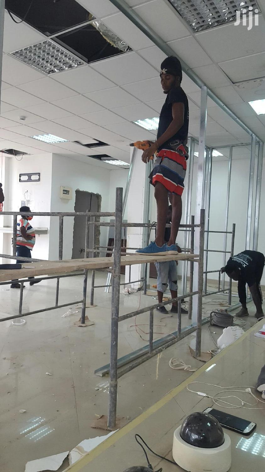 Drywall Partition | Building & Trades Services for sale in Alajo, Greater Accra, Ghana